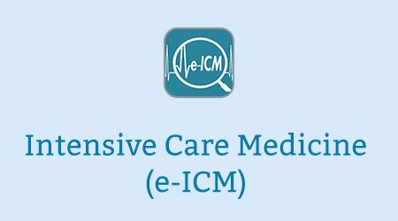 Intensive Care Medicine (e-ICM)