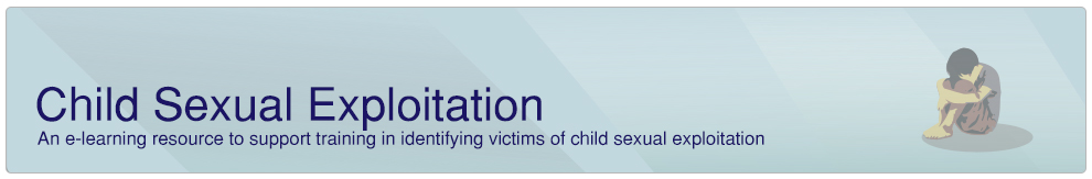 Child Sexual Exploitation banner