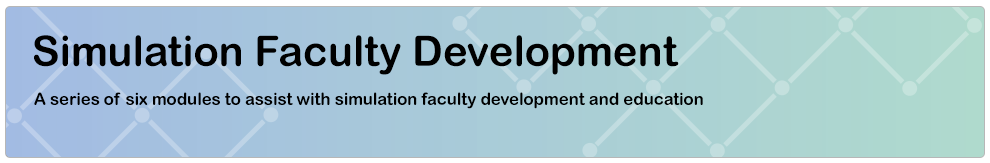 Simulation Faculty Development_Banner
