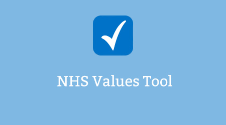 NHS Values Tool