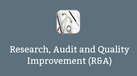 Research, Audit and Quality Improvement (R&A)