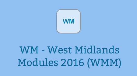 WM - West Midlands Modules 2016 (WMM)