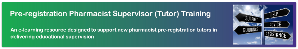 Pharmacy Supervisor Training_Banner
