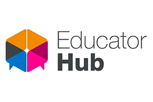 Blog post image - Educator hub logo_small