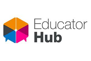 Blog post image - Educator hub logo_small