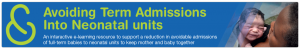 Avoiding Term Admissions Into Neonatal units_Banner