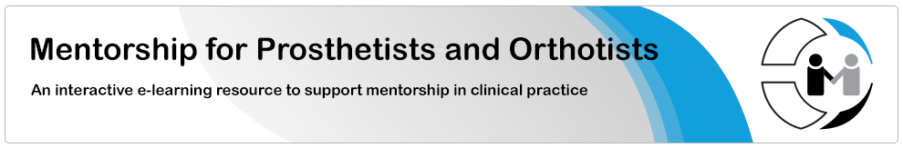 Mentorship for Prosthetists and Orthotists_banner