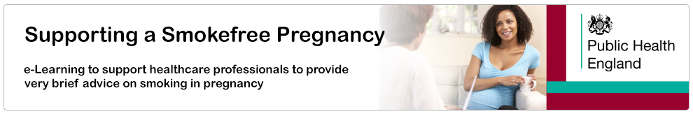 Supporting a Smokefree Pregnancy_Banner