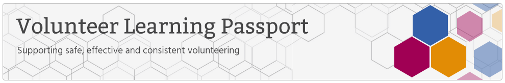 Volunteer Learning Passport_Banner