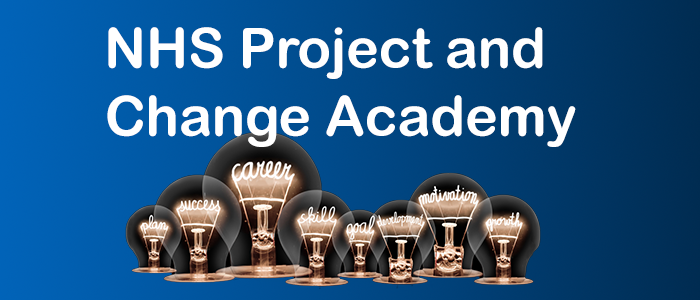 NHS Project and Change Academy e-learning programme now live