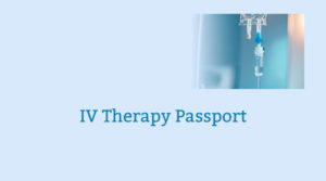 IV Therapy Passport