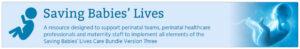 Saving Babies Lives