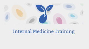 Internal Medicine Training