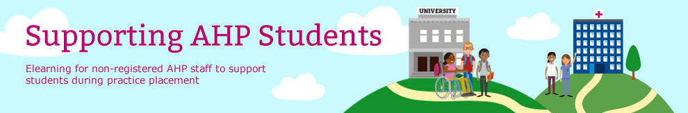 Supporting AHP Students_Banner