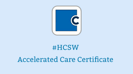 HCSW2020 Accelerated Care Certificate