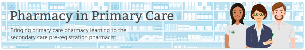 Pharmacy in primary care