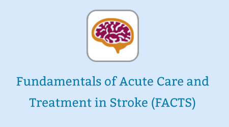 Fundamentals of Acute Care and Treatment in Stroke (FACTS)