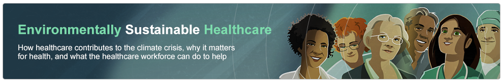Environmentally Sustainable Healthcare