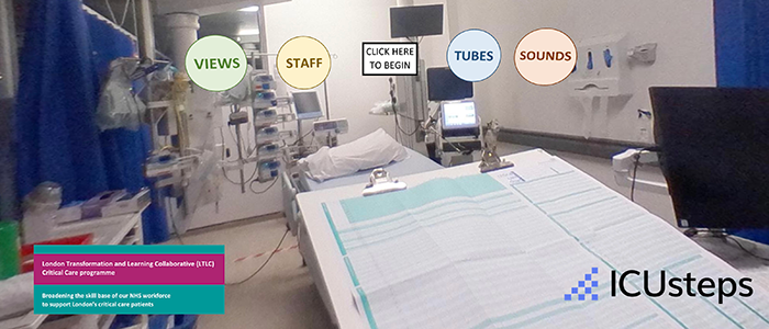 Patient and Family Critical Care 360 Tour