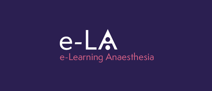 Anaesthesia (e-LA) - Latest News