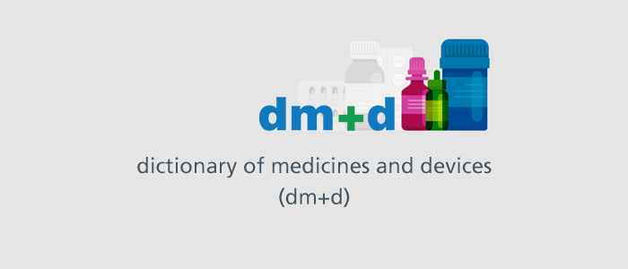 dictionary of medicines and devices programme